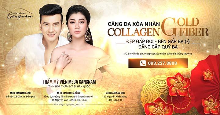 Banner thẩm mỹ viện Mega GangNam