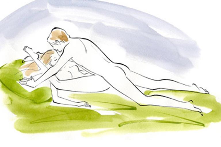 tư thế quan hệ tình dục cực sướng khiến con cu đâm sâu vào lồn