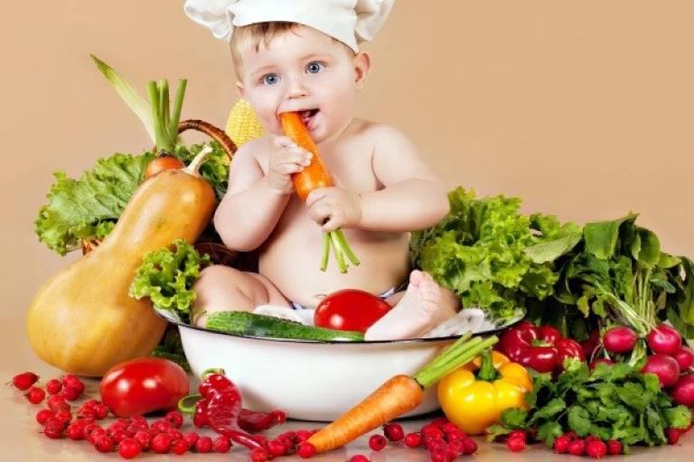 Xây dựng chế độ ăn uống hợp lý cho bé