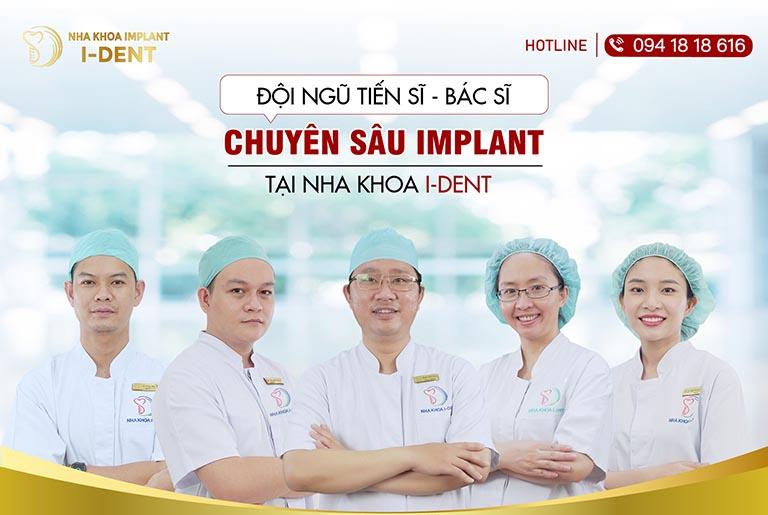 Cấy ghép răng implant nha khoa ident
