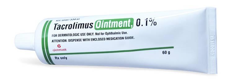 Thuốc bôi ức chế miễn dịch Tacrolimus