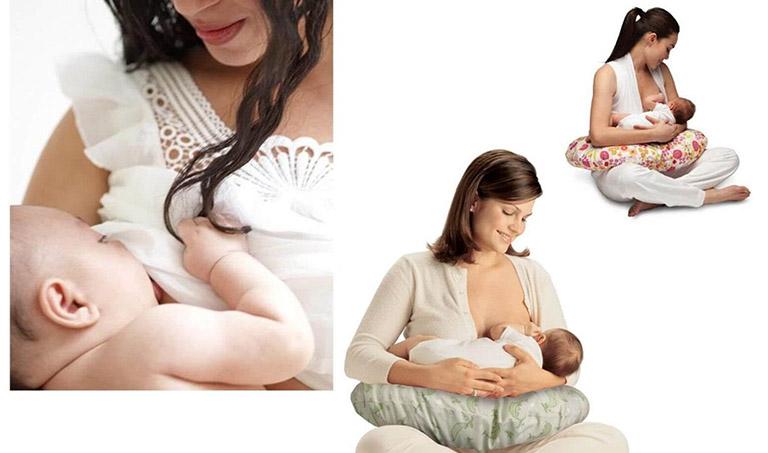 Cách cho trẻ sơ sinh bú