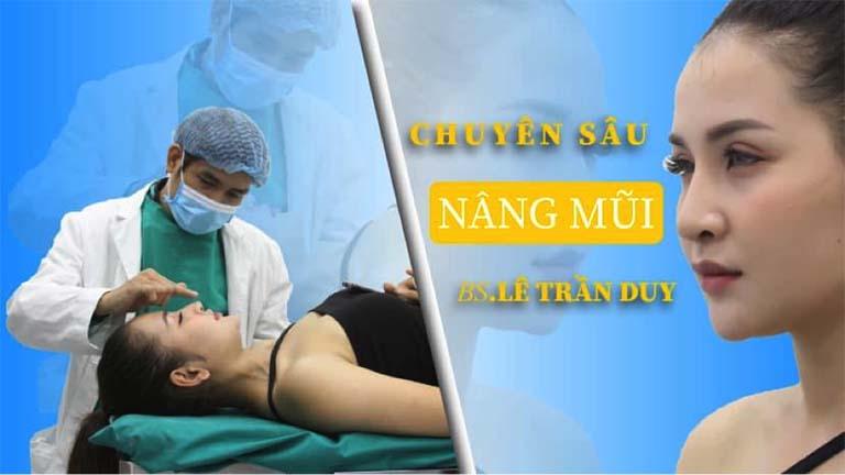 Nâng mũi chuyên sâu bác sĩ lê trần duy