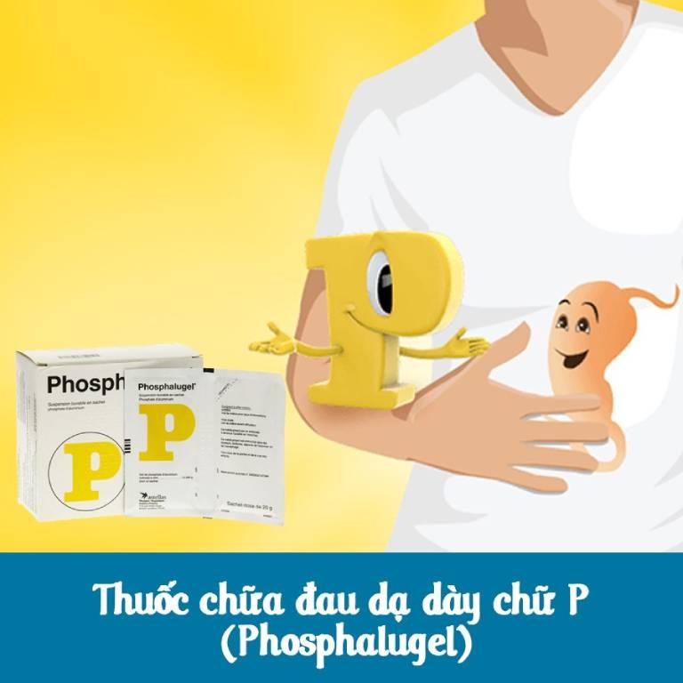 Thuốc chữ P chữa đau dạ dày