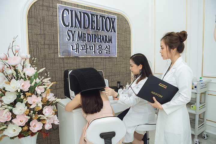 Trị nám da tàn nhang uy tín tại tphcm cin deltox
