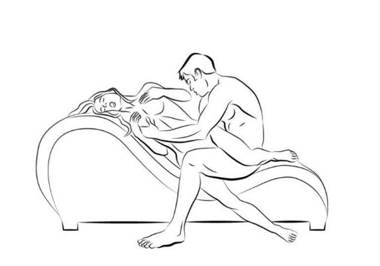 Tư thế quan hệ trên ghế tình yêu