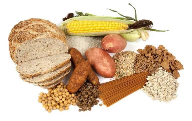 Các thực phẩm giàu tinh bột