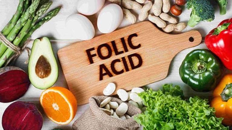 Bổ sung nhóm thực phẩm chứa axit folic
