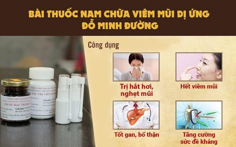 Bài thuốc viêm mũi dị ứng Đỗ Minh Đường an toàn cho bé
