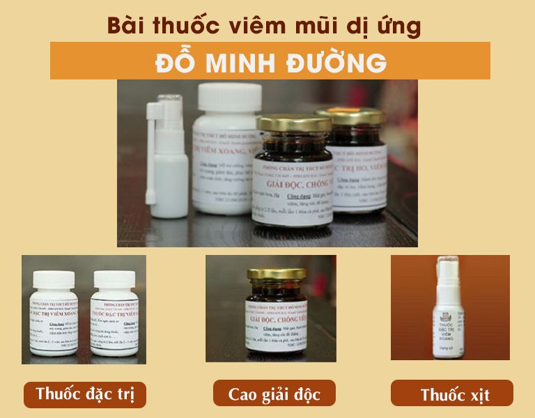 Bài thuốc cổ xưa chữa viêm mũi dị ứng của Đỗ Minh Đường