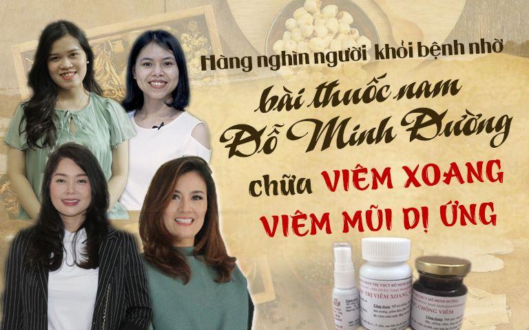Bài thuốc viêm mũi dị ứng Đỗ Minh Đường đã giúp hàng nghìn người khỏi bệnh