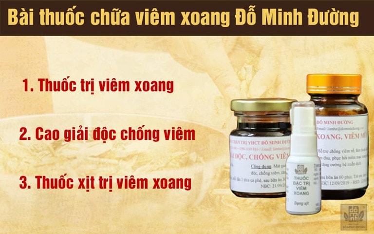 Liệu trình bài thuốc viêm xoang cho bà bầu của Đỗ Minh Đường