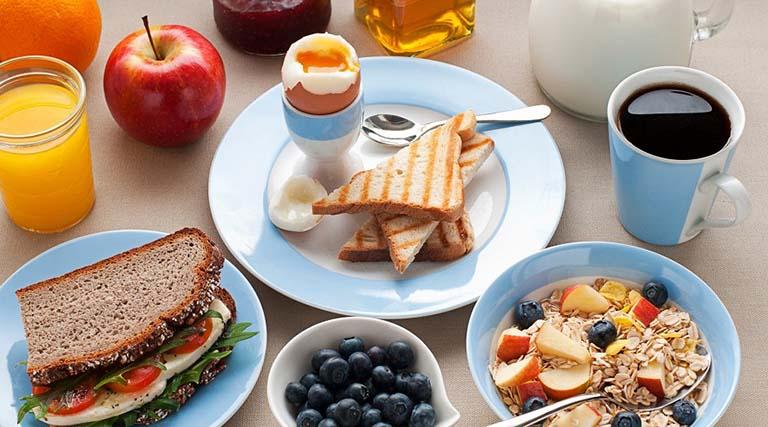 Bữa sáng cho người đau dạ dày
