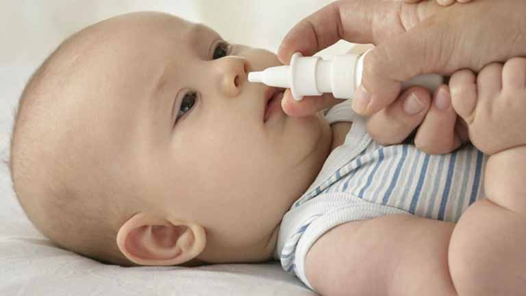 Tác dụng của việc rửa mũi cho trẻ sơ sinh