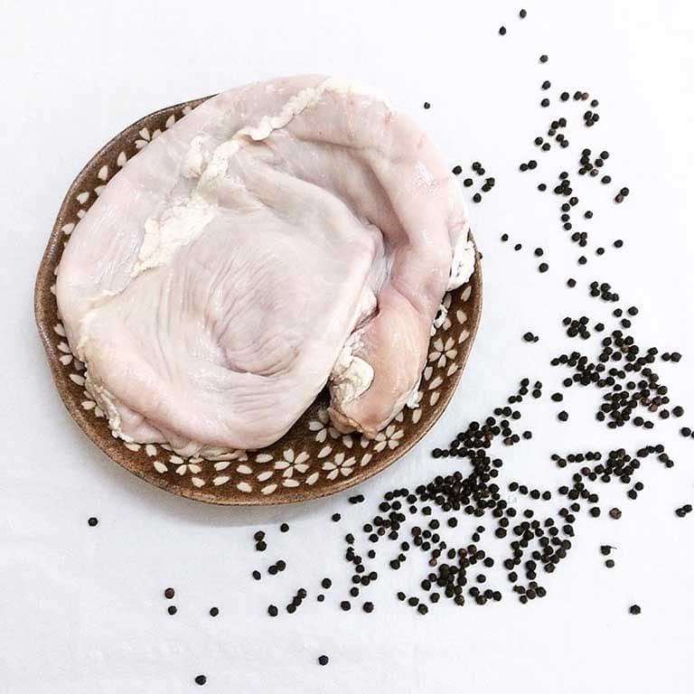Đau dạ dày nên ăn cháo - cháo lá lách bao tử heo