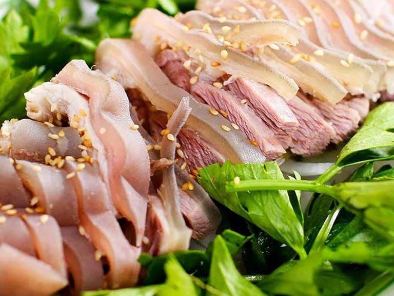 Đau dạ dày nên ăn cháo - cháo thịt dê cao lương