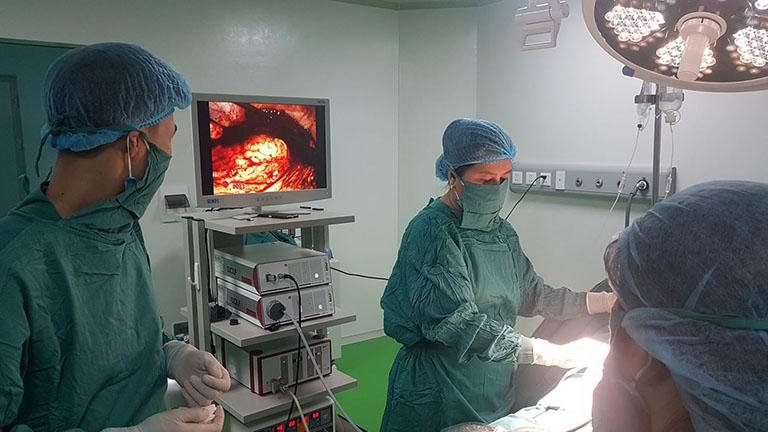 điều trị mang thai ngoài tử cung
