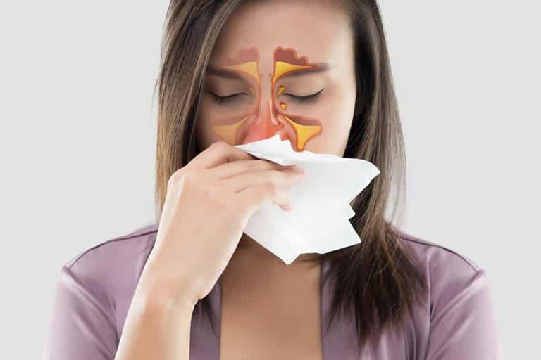 Đau họng nhức đầu mệt mỏi