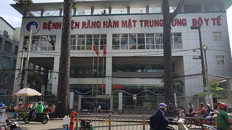 Bệnh viện Răng Hàm Mặt Trung Ương TPHCM