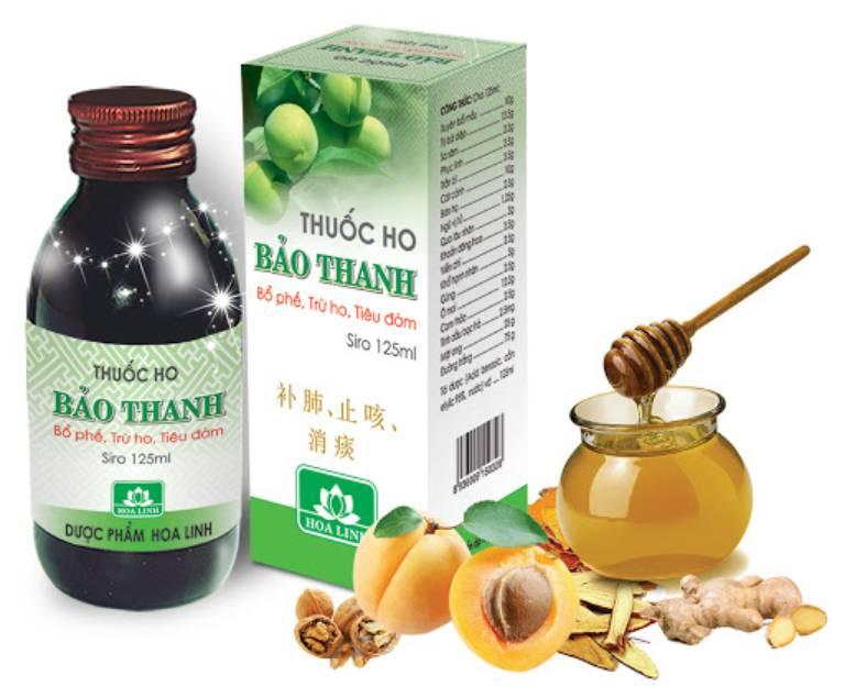 Siro trị ho Bảo Thanh