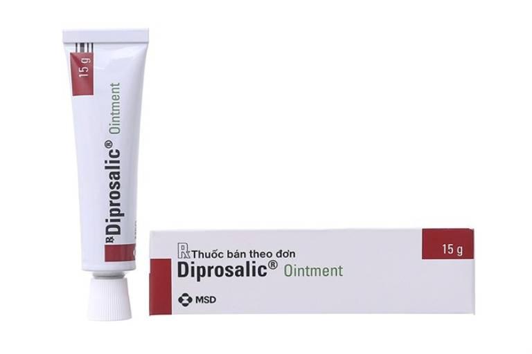Thuốc bôi Diprosalic trị á sừng