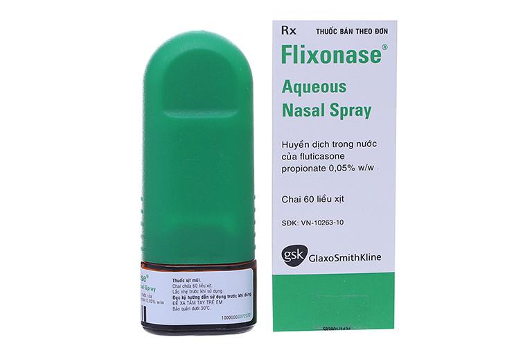 Thuốc xịt viêm mũi dị ứng Flixonase
