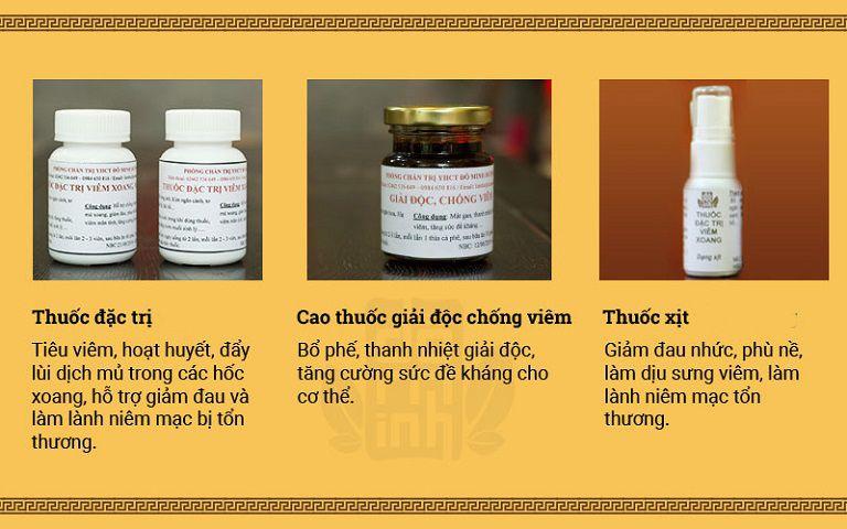 Thuốc xịt viêm mũi dị ứng thuộc liệu trình 3 loại trong bài thuốc Đỗ Minh Đường