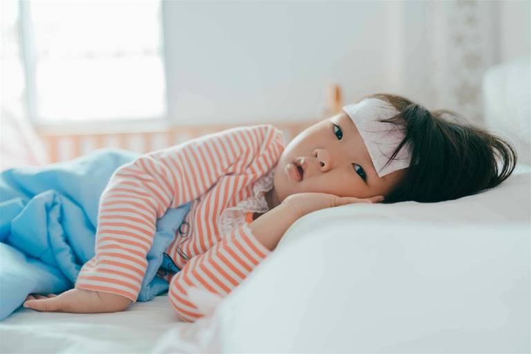 Các biểu hiện viêm họng cấp ở trẻ em