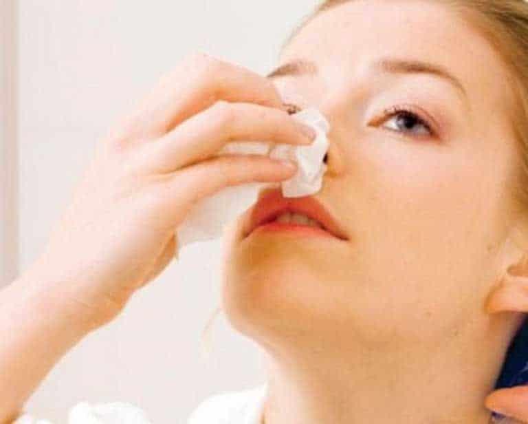 Nguyên nhân dẫn đến viêm xoang chảy máu mũi