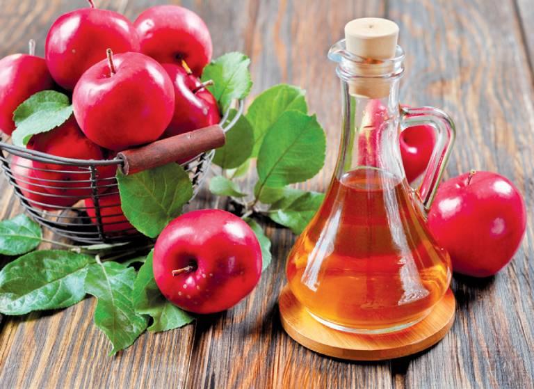 Giấm táo làm giảm ngứa ngáy tay chân ở mẹ bầu