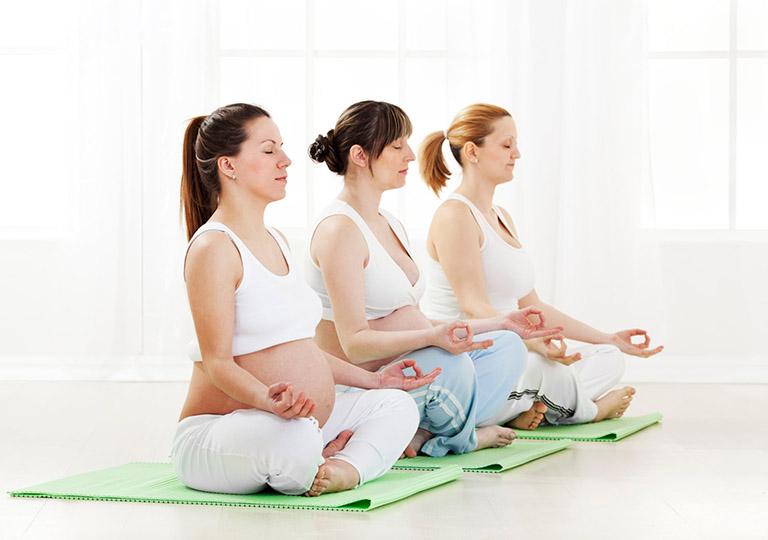 Bài tập Yoga cho bà bầu