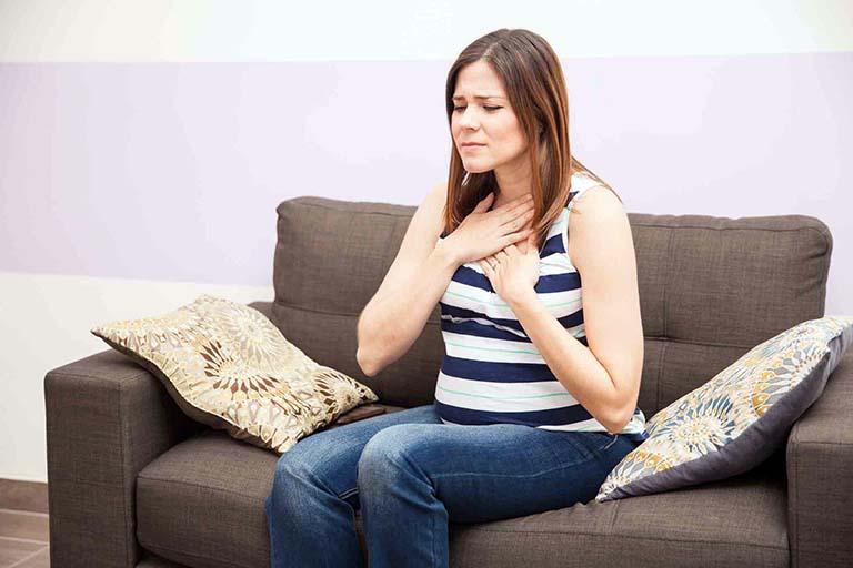 dấu hiệu trào ngược dạ dày khi mang thai