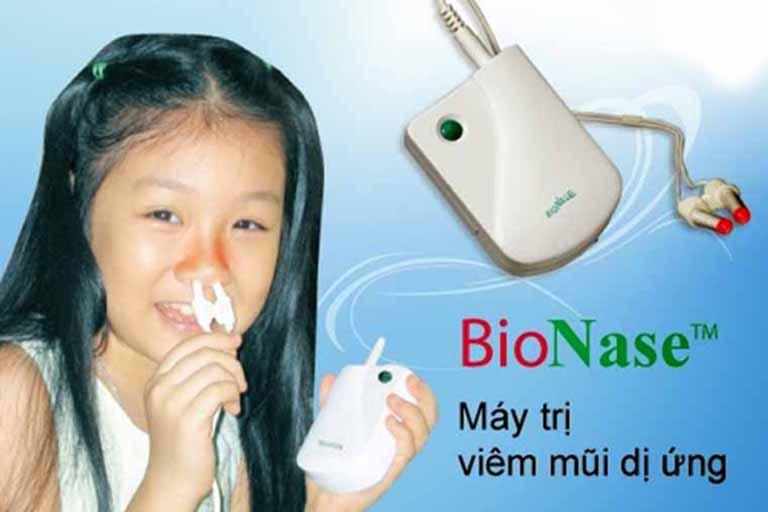 Máy trị viêm mũi dị ứng Bionase có tốt không?