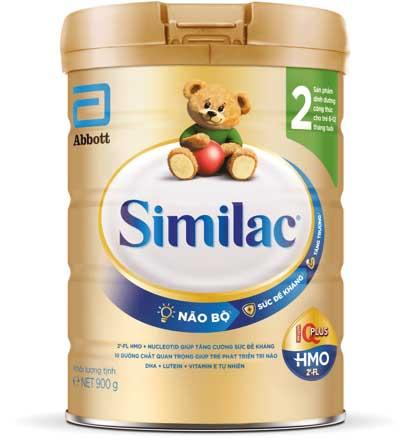 Sữa Similac số 2 cho trẻ 6 đến 12 tháng