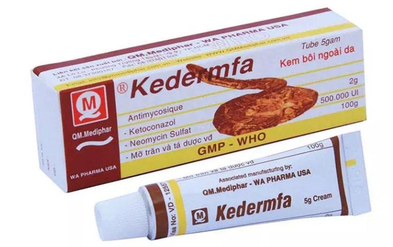 Những thông tin cơ bản về thuốc trị hắc lào Kedermfa