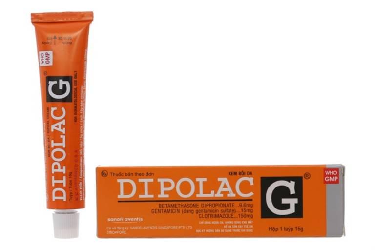 Kem bôi Dipolac G