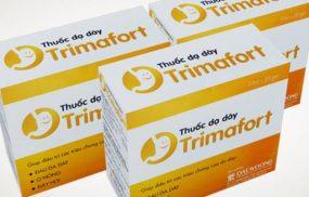 Thuốc dạ dày Trimafort (chữ T): Chỉ định và tác dụng phụ cần biết