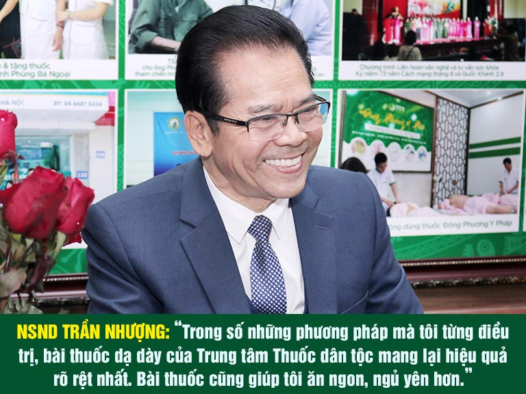 Chia sẻ tích cực từ NSND Trần Nhượng về bài thuốc Sơ can Bình vị tán