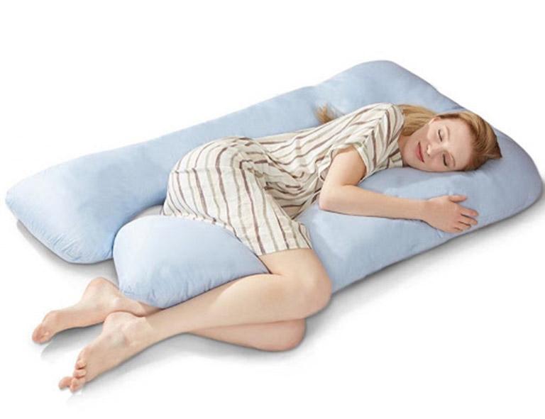 tư thế nằm ngủ tốt cho bà bầu