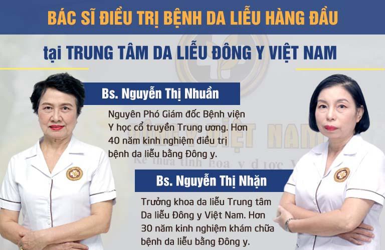 Đội ngũ bác sĩ trực tiếp nghiên cứu và bào chế bài thuốc An Bì Thang