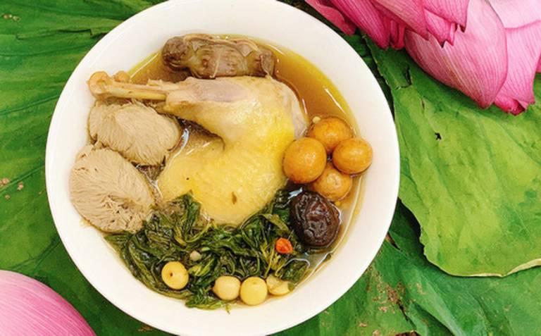 Một số món ăn từ mần ri chữa thoát vị đĩa đệm