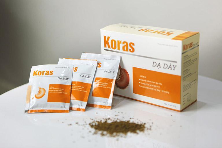 dạ dày Koras