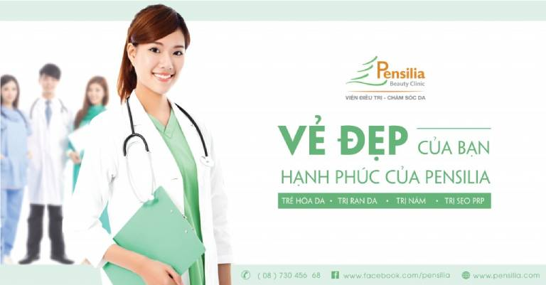 Hệ thống Pensilia Beauty Clinic