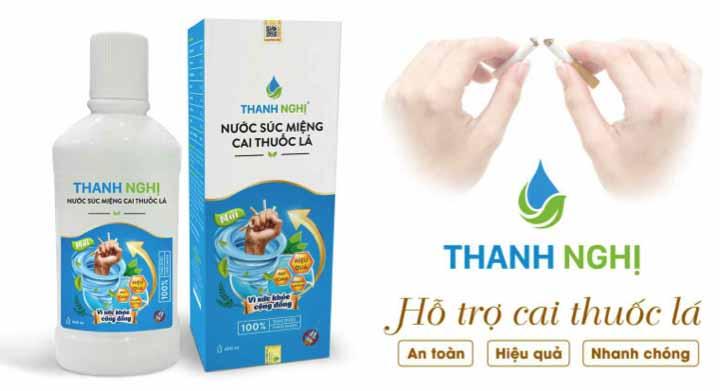 thanh nghị hỗ trợ cai thuốc lá