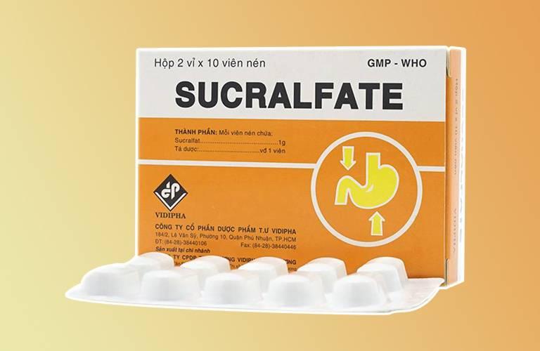 Thuốc trào ngược dạ dày Sucralfate