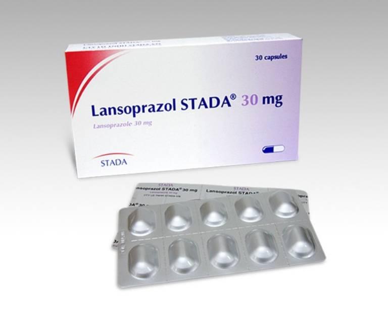 Thuốc Lansoprazol chữa trào ngược dạ dày