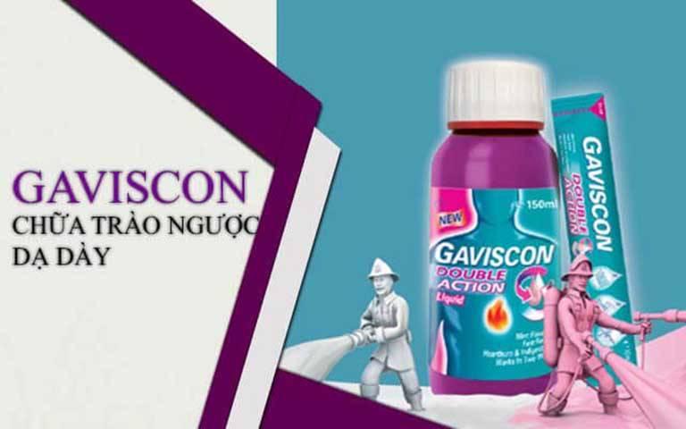Thuốc Gaviscon chống trào ngược dạ dày