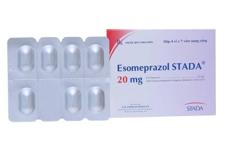 Thuốc dạ dày Esomeprazol: Thành phần, công dụng, lưu ý