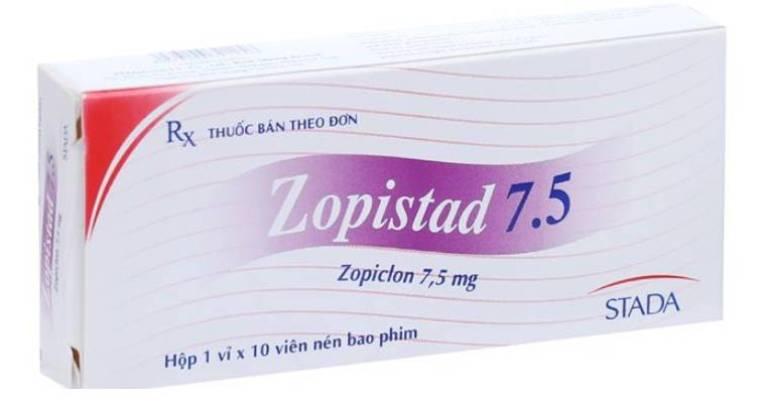 Thuốc điều trị mất ngủ Zopistad 7.5