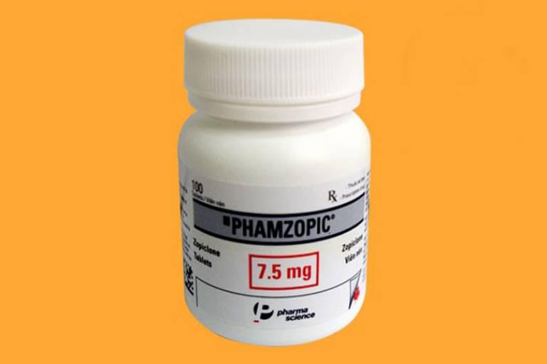 Thuốc điều trị mất ngủ Phamzopic